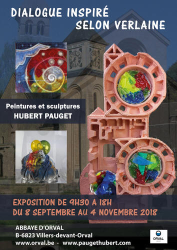 Exposition Hubert PAUGET : Dialogue inspire selon Paul Verlaine